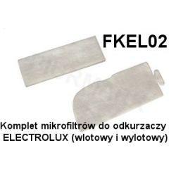 Komplet mikrofiltrów FKEL02 do odkurzaczy odkurzacza ELECTROLUX