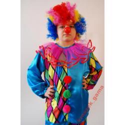 *GAMA* Strój Klaun, Clown 122 stroje karnawałowe
