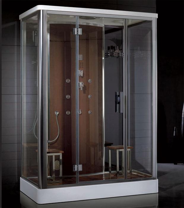 Kabina Parowa Hydromasaz Prysznic Dz956f8 15090cm Kabiny