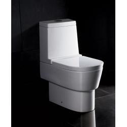 WC stojące WA332 z deską wolnoopadającą i  spłuczką