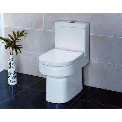 TA345P WC stojące z deska wolnoopadająca i spłuczką