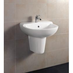 BD351 umywalka wisząca półpostument 49cm