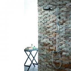 PL080Z panel prysznicowy z wlewką wannową
