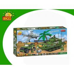 Cobi Klocki SMALL ARMY SECRET MISSION 500 KL