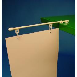ramie plastik poziom do wieszania reklam baner 1kpl 300mm