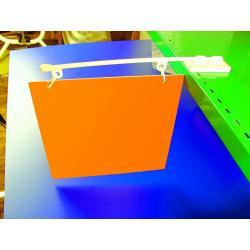 ramie plastik poziom do wieszania reklam baner magnes 1kpl 300