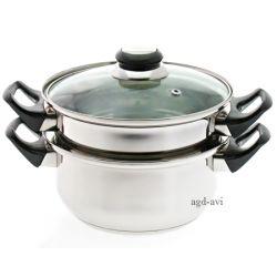 Garnek do gotowania na parze 3-el. Basic