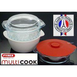 Garnek do gotowania na parze Pyrex Multicook