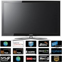 TELEWIZOR SAMSUNG LE40C750 DVB-T MPEG-4 200 Hz 3D