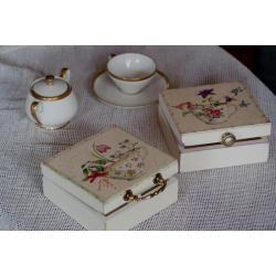 """Pudełko na herbatę """"Tea time"""""""