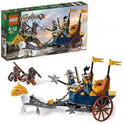 KLOCKI LEGO CASTLE 7078 KRÓLEWSKI RYDWAN