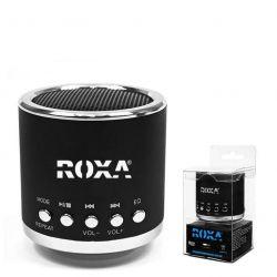 Przenośny głośnik MP3 RADIO USB RoXa !!! CZARNY Gadżety motoryzacyjne