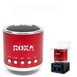 Przenośny głośnik MP3 RADIO USB RoXa !!! CZERWONY Gadżety motoryzacyjne