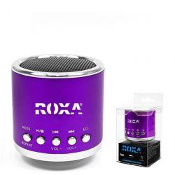 Przenośny głośnik MP3 RADIO USB RoXa !!! FIOLET Gadżety motoryzacyjne