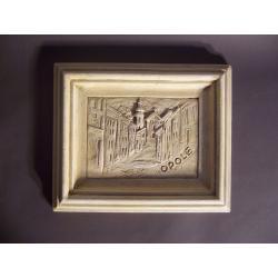 widok Opola - płaskorzeźba