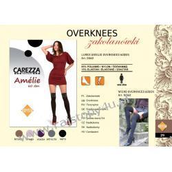 Zakolanówki Carezza Amelie 60den Kolor Nero