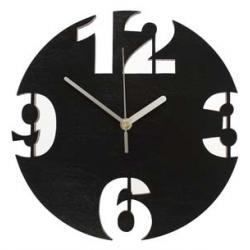 CYFRY  Nowoczesny zegar ścienny