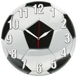 PIŁKA NOŻNA zegar ścienny MECHANIZM PŁYNĄCY