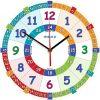 Edukacyjny zegar ścienny dla dzieci ZMNC-T