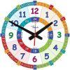 Edukacyjny zegar ścienny dla dzieci ZMNG