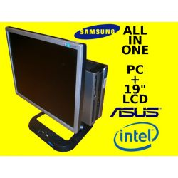 ALL IN ONE PC+LCD SAMSUNG 19' C2D 2X2800 4GB 250
