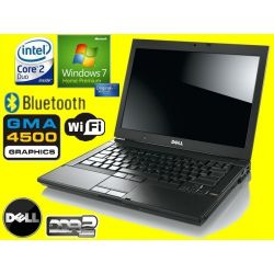 DELL LATITUDE E6400 C2D 2X2530 4GB 160GB BT RW 7HP