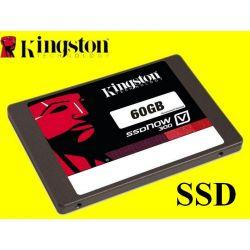 ROZBUDOWA HDD NA NOWY SSD KINGSTON V300 60GB FV GW