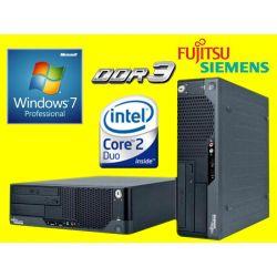 SIEMENS E5731 C2D 2X3000 4GB DDR3 320GB DVDRW 7PRO