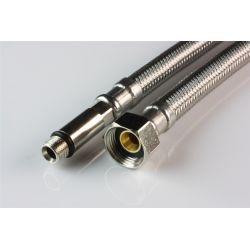 """Wąż przyłączeniowy do baterii, przyłącze M10 długie × ⌀ 3/8"""" GW, długość: 800 mm"""