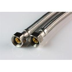 """Wąż przyłączeniowy do baterii, przyłącze ⌀ 3/8"""" × 3/8"""" GW, długość: 400 mm"""