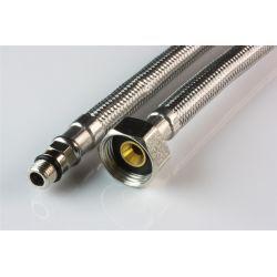 """Wąż przyłączeniowy do baterii, przyłącze M10 krótkie × ⌀ 1/2"""" GW, długość: 1000 mm"""