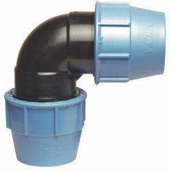 Kolano polietylenowe, ⌀ 40 mm × 40 mm, 90°