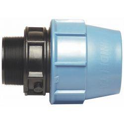 """Złączka polietylenowa, ⌀ 75 mm × 2"""" GZ"""