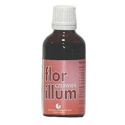 Płukanka do włosów FLOR ILLUM - CZERWIEŃ