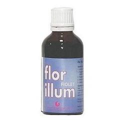 Płukanka do włosów FLOR ILLUM - FIOLET