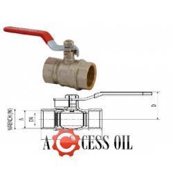 """wyjątkowyart.415 Zawór kulowy do gorącej wody GW/GW 1/2"""""""