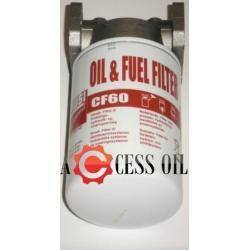 Filtr do oleju i paliwa cf 60 PIUSI 60l/min z głowicą