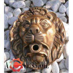 wyjątkowyart.1905 Włoska wylewka Głowa Lwa