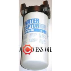 wyjątkowyFiltr do oleju i paliwa z separatorem wody  Water Captor CFD 70-30