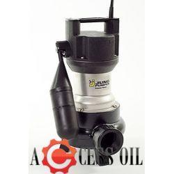 Pompa zatapialna od brudnej wody US 155 ES z wolnym przelotem 50 mm ze sztywnym pływakiem  230V JUNG PUMPEN