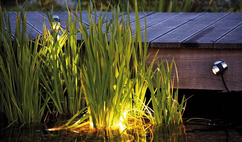 oase oświetlenie