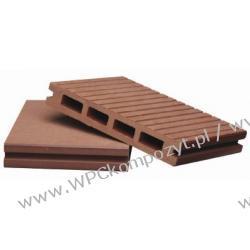 Deska tarasowa, kompozyt drewna, WPC, 146x22mm - 2,4/3/4/5,8m kolor grafitowy (WPC008)
