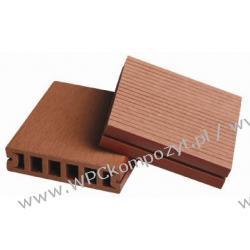 Deska tarasowa, kompozyt drewna, WPC, 100x25mm - 2,4/3/4/5,8m kolor grafitowy (WPC008)