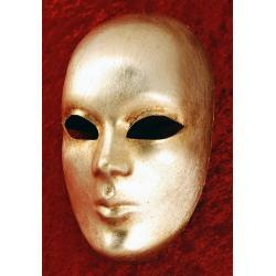 Maska wenecka - Twarz Srebro