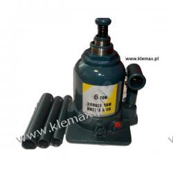 PODNOŚNIK HYDRAULICZNY  6T / 2 tłokowy - min. 215 mm  Duże podzespoły