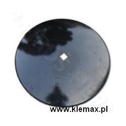 TALERZ GŁADKI 560MM (BRONA TALERZOWA) OTWÓR 30x30MM - 4mm grubość  Wtryskiwacze