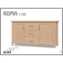 Komoda Bukowa Roma 1/155