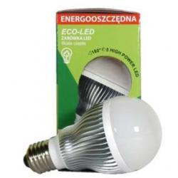 Żarówka 5 LED Eco-Led E27 180st ciepła 240lm 9529