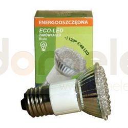 Żarówka 48 LED Eco-Led JDR E27 120st biała 120lm 9840...