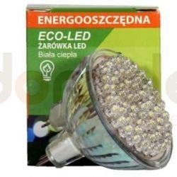 Żarówka 60 LED Eco-Led 12V MR16 60st ciepła 120lm 9673...